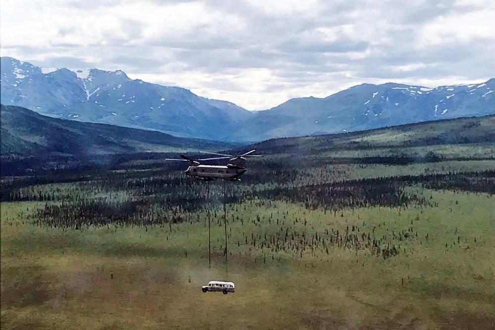 Into the Wild ©  SETH LACOUNT / Alaska Army National Guard / AFP