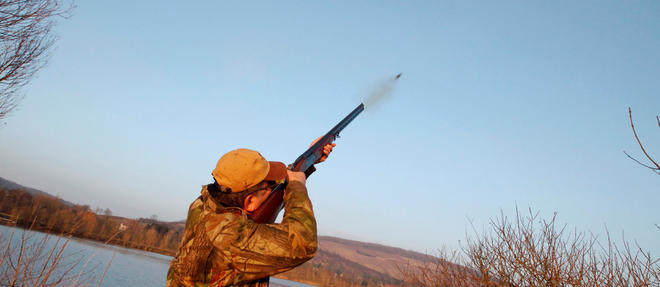 Un chasseur en action en Picardie (photo d'illustration).