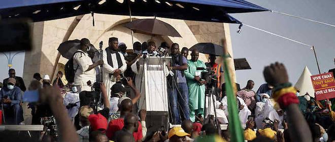 Tres suivies a Bamako, les manifestations dirigees par l'imam Mahmoud Dicko ne sont pas toujours percues de la meme facon dans les villes des regions.