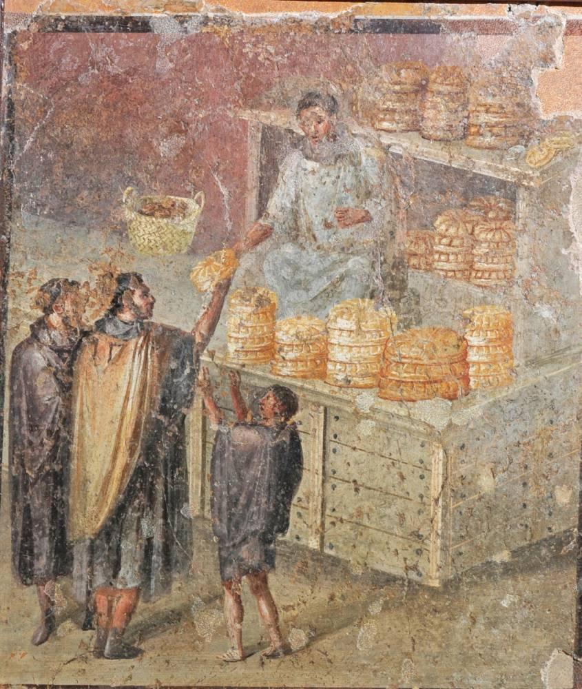 fresque ©  GIORGIO ALBANO/Musée archéologique national de Naples