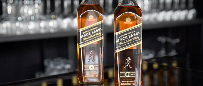 Johnnie Walker fait partie des marques de whisky les plus connues au monde. (illustration)