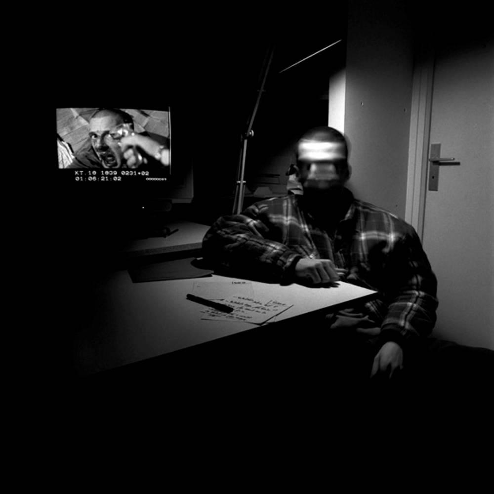 Mathieu Kassovitz, Chanteloup-les-Vignes, tournage, film, Gilles Favier,  ©  Gilles Favier, courtesy galerie Clémentine de la Féronnière