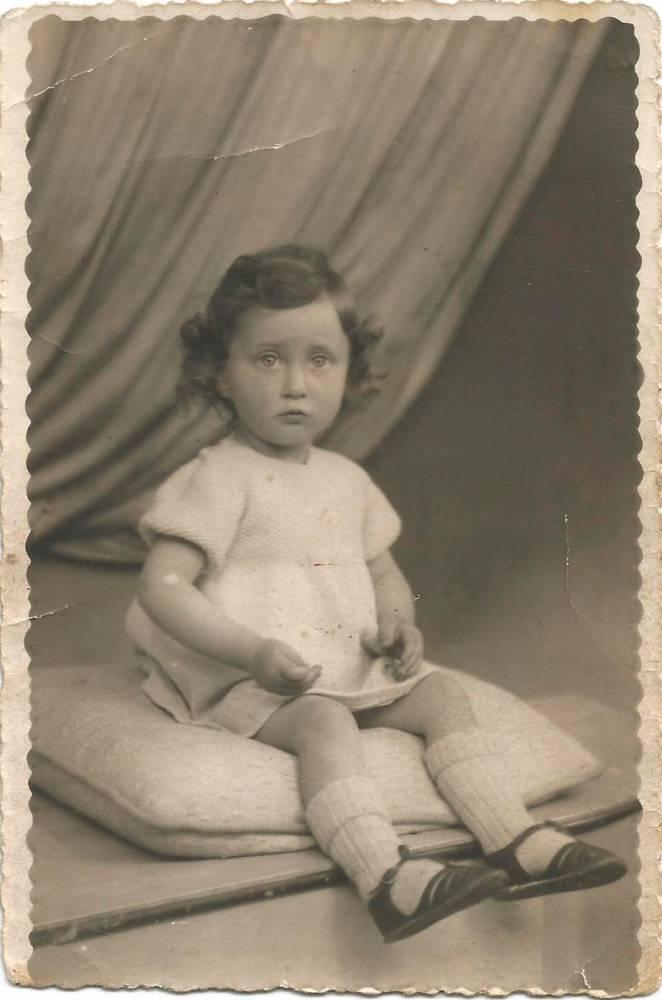 enfant cachée, Occupation, ©  Collection particulière