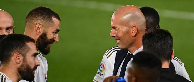Le Real Madrid de Zidane sacré champion d'Espagne Le Point