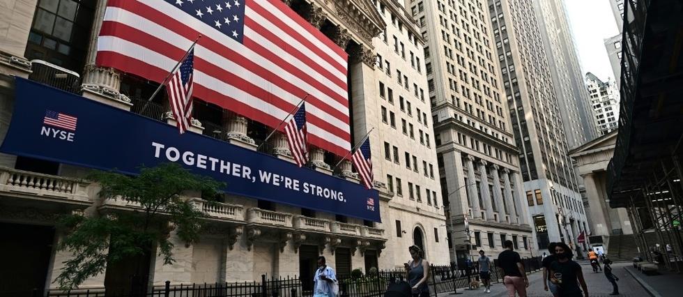 Wall Street finit proche de l'équilibre après une semaine riche en  résultats - Le Point