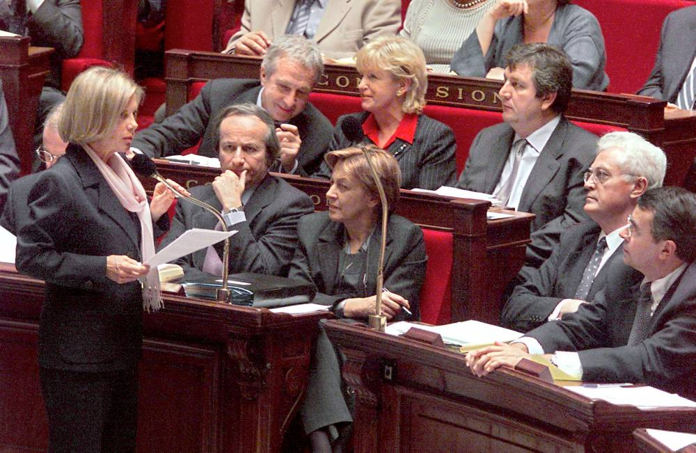 Élisabeth Guigou, ministre, Assemblée nationale,  ©  JACK GUEZ / AFP
