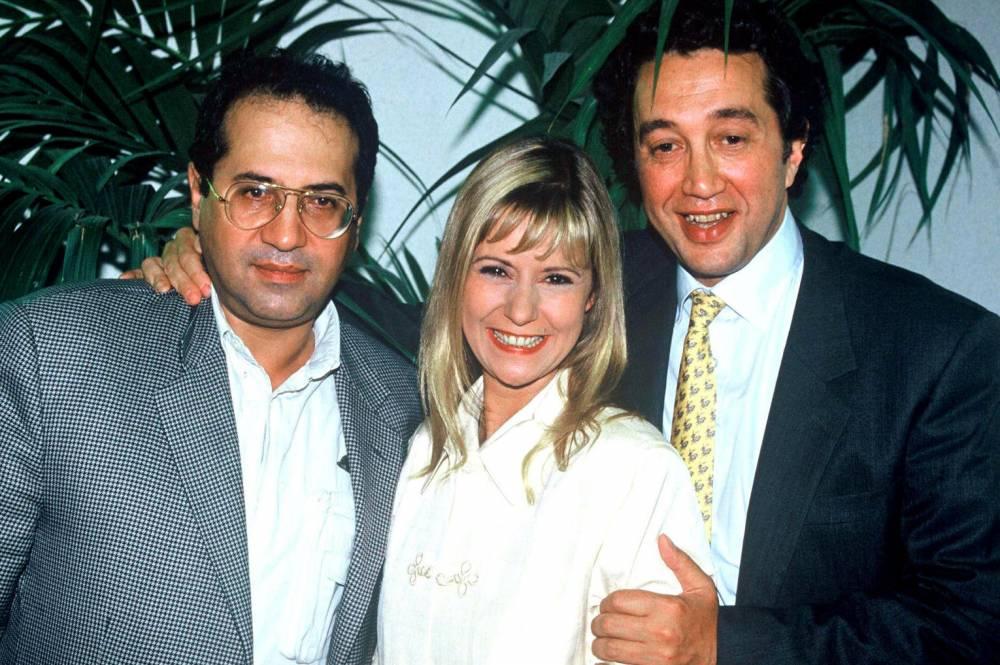 Jean-Luc Azoulay, Dorothée, Claude Berda, télévision,  ©  SUREAU/TF1/SIPA