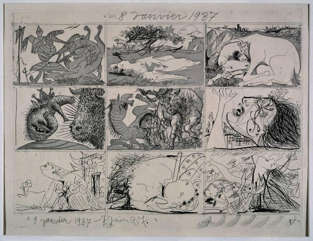 Picasso ©  akg-images / Album / Oronoz / akg-images / Album / Oronoz