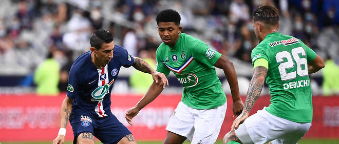 Le PSG s'est impose 1 a 0 face a l'As Saint-Etienne en finale de la Coupe de France.
