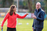 William et Kate en visite en Irlande, en mars 2020.