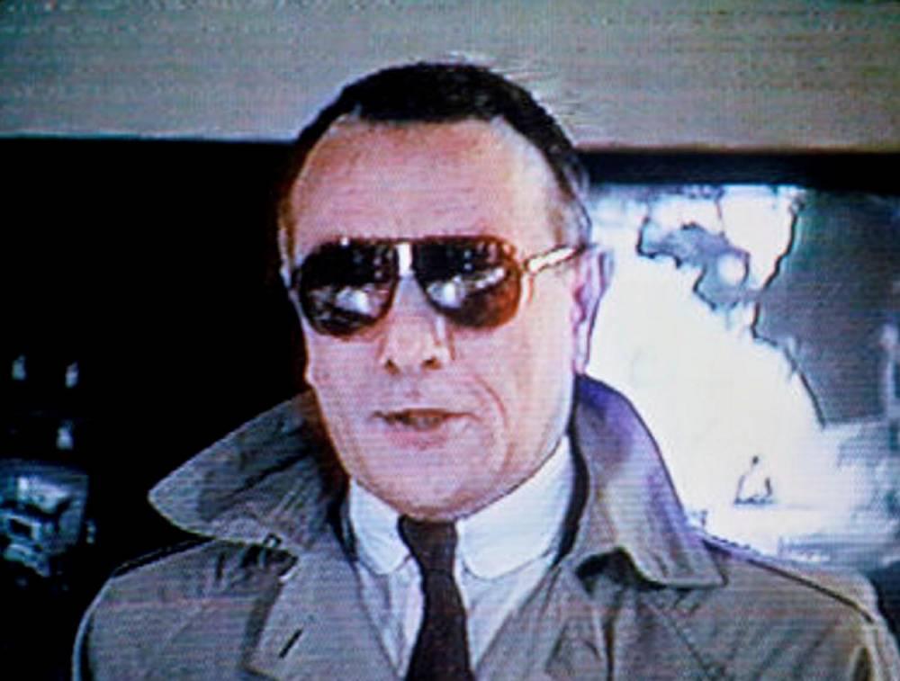 Yves Mourousi, JT, 1985, général Jaruzelski,  ©  MORRIS RAYMOND/SIPA