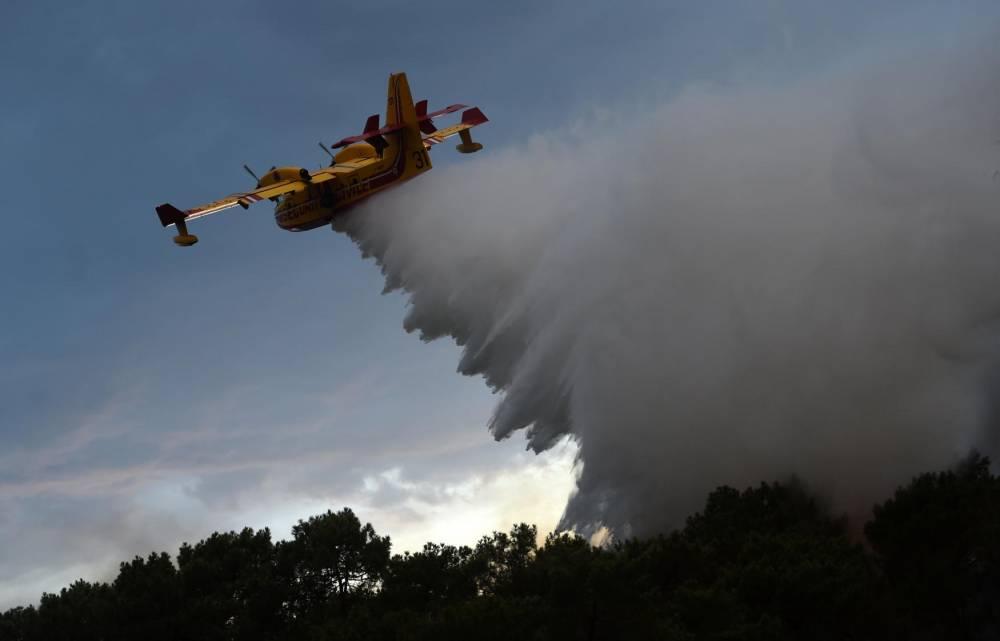 Incendie ©  GAIZKA IROZ / AFP