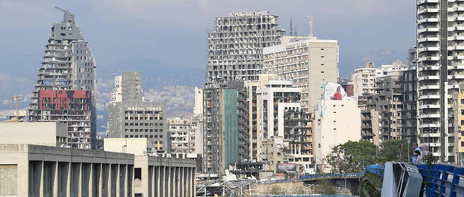 L'explosion a Beyrouth a fait plus de 170 morts en aout 2020.