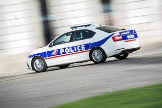 Une voiture de la police nationale. (Photo d'illustration)