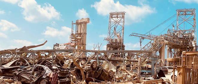 La double explosion a Beyrouth le 4 aout 2020 a fait au moins 171 morts.