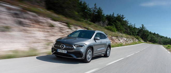 Mercedes GLA 200 D : extension de position dominante