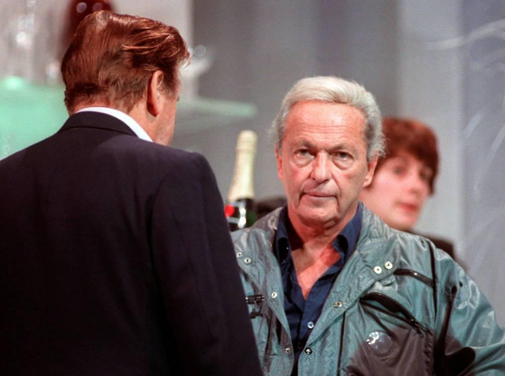 Guy Lux, télévision, ©  CLEMENT / AFP