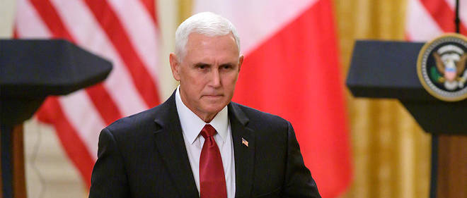 Dans un discours au troisieme jour de la convention republicaine mercredi 26 aout, le vice-president des Etats-Unis Mike Pence a presente Donald Trump comme le seul capable de resister aux assauts de la << gauche radicale >>. (Photo d'illustration)
