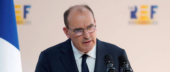Jean Castex s'est rendu, mercredi 26 aout, a l'universite d'ete du Medef a Longchamp.