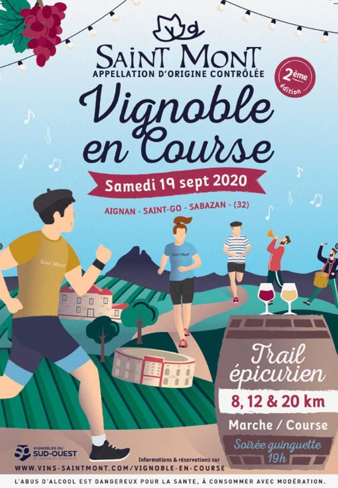 course, vignes ©  DR