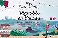Saint Mont Vignoble en course 2020