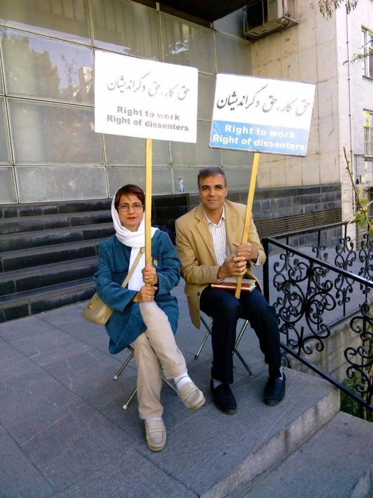 -Nasrin-Sotoudeh-Iran- ©  DR