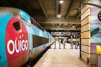 Un train Ouigo SNCF. (Photo d'illustration)
