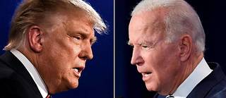 Donald Tump et Joe Biden (Photo d'illustration)