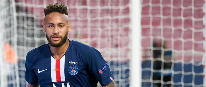 Neymar a accepte de donner son maillot a Stephane Moulin, l'entraineur d'Angers (photo d'illustration).