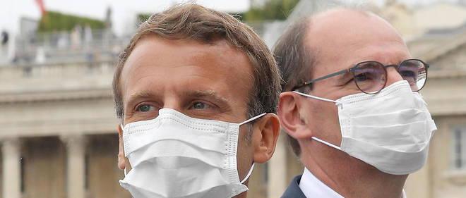 Emmanuel Macron et Jean Castex, le 14 juillet.