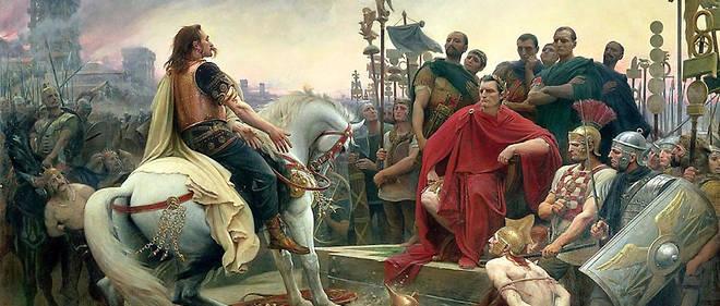 """Jules Cesar pendant le siege d'Alesia. Les Francais sont amoureux de la democratie cesariste. Mais il n'est pas certain qu'un """"homme fort"""" puisse ramener si facilement l'ordre."""
