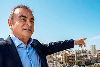"<SPAN class=""dflt-txt dflt-txt--lgnd g-gotham-book glbl-txt-alg-ctr"">Carlos Ghosn, ancien PDG de l'Alliance Renault-Nissan, à Beyrouth, le 22 octobre.</SPAN> ©Balkis Press"