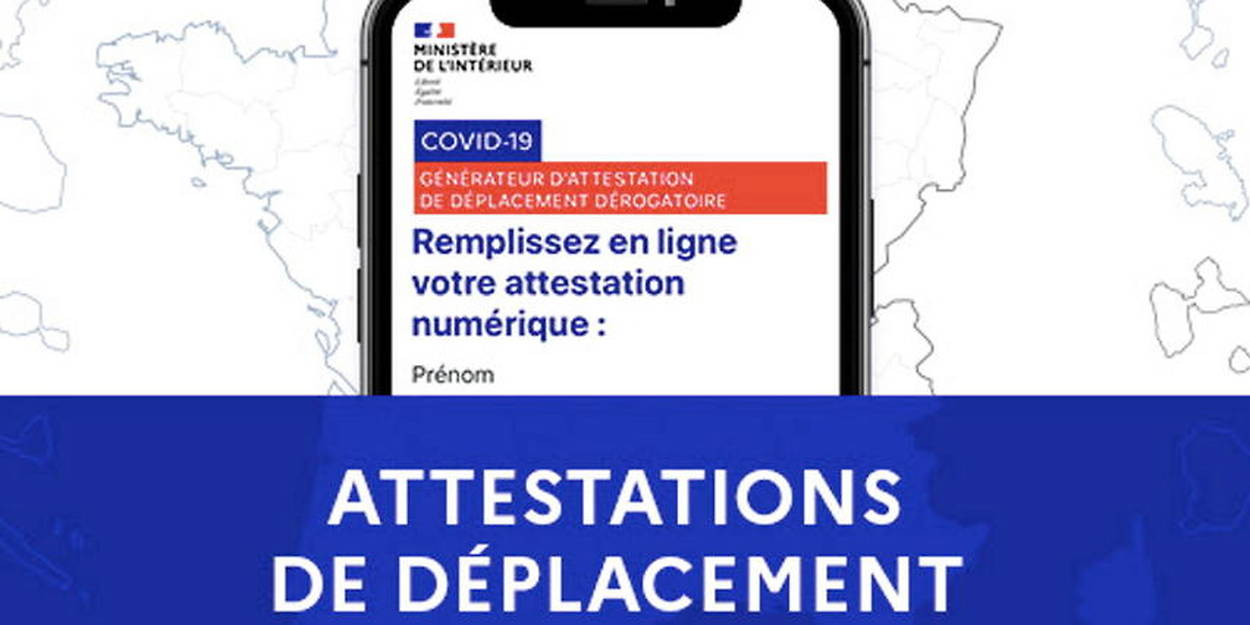 Confinement Les Attestations De Deplacement Enfin Disponibles Le Point