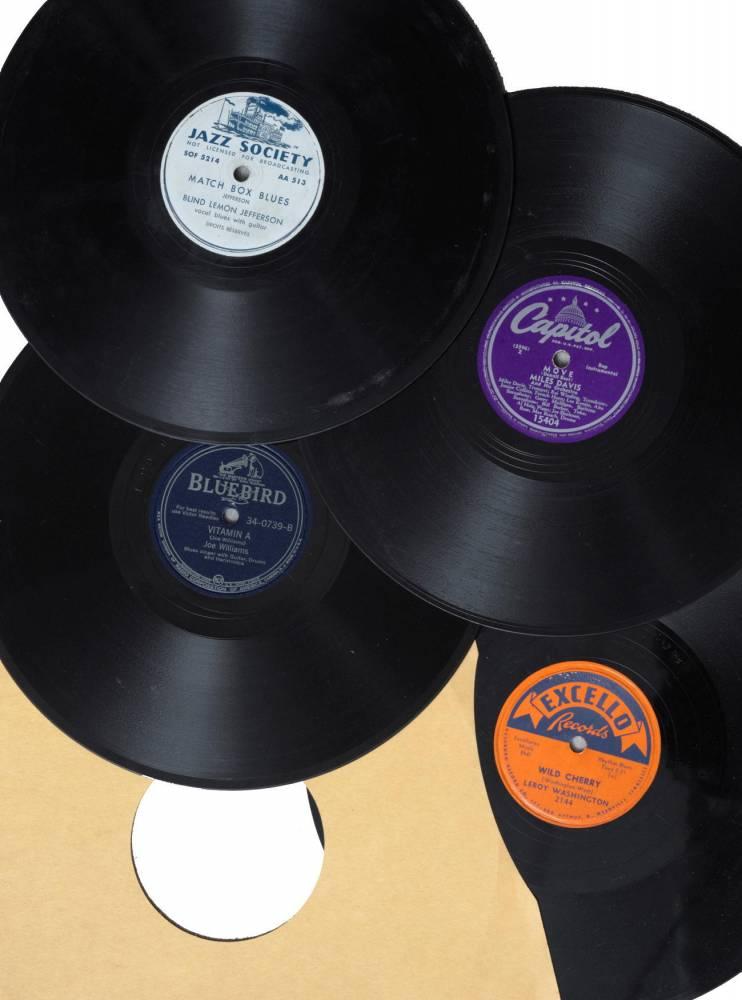 disques, enchères ©  DR