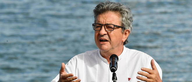 Jean-Luc Melenchon a annonce sa candidature pour la presidentielle de 2022. (Photo d'illustration)