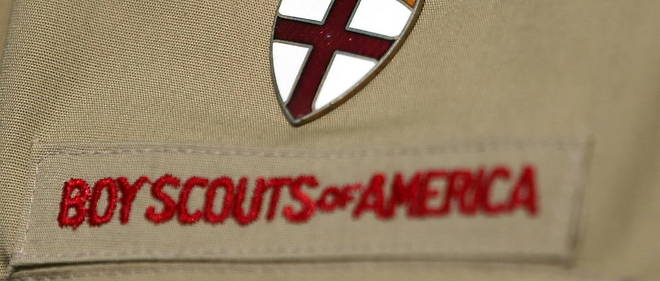 Detail d'un uniforme Boy Scout. (Photo d'illustration)