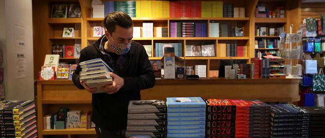 Une librairie du quartier de Brooklyn, a New York (Etats-Unis), le 17 novembre 2020. Pour esperer atteindre les rayons, les auteurs americains doivent de plus en plus faire relire leur texte par des sensitivity readers.