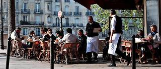 La terrasse d'un restaurant à Paris. (Photo d'illustration)