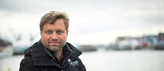 Le skipper Alex Thomson, en 2018.