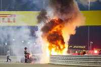 Par miracle, le pilote français Romain Grosjean a survécu à un terrible accident lors du Grand Prix de Bahreïn.