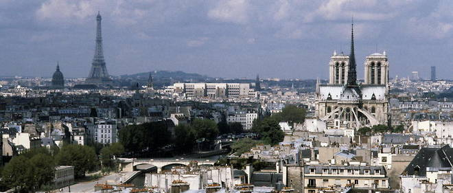 Vue aerienne de Paris (photo d'illustration).
