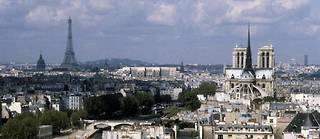Vue aérienne de Paris (photo d'illustration).