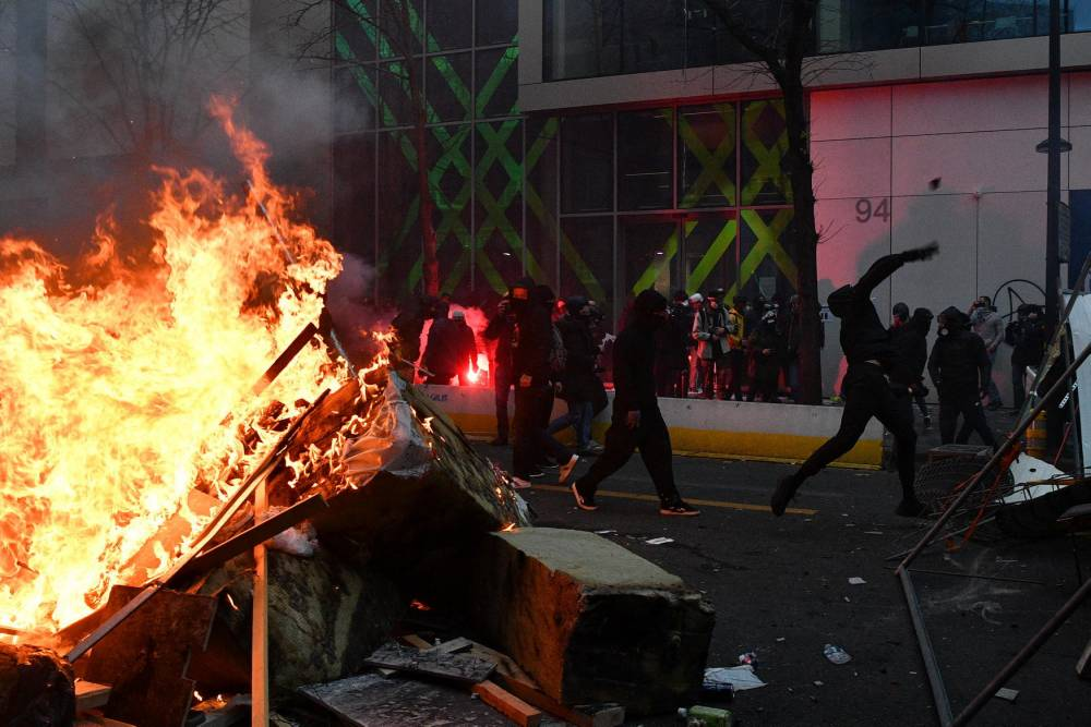 Paris, manifestation, incident ©  ANNE-CHRISTINE POUJOULAT / AFP