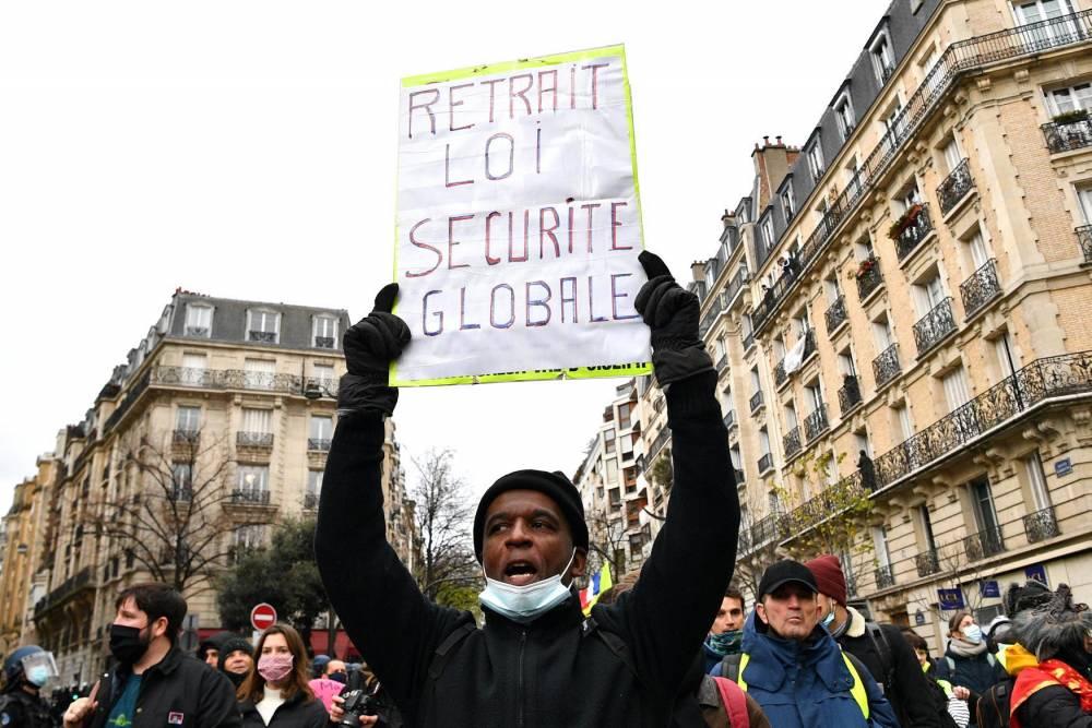 Manifestation, Paris, loi sécurité globale ©  ANNE-CHRISTINE POUJOULAT / AFP