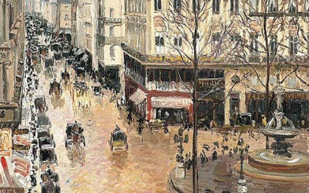 Pissarro ©  The Times of Israel