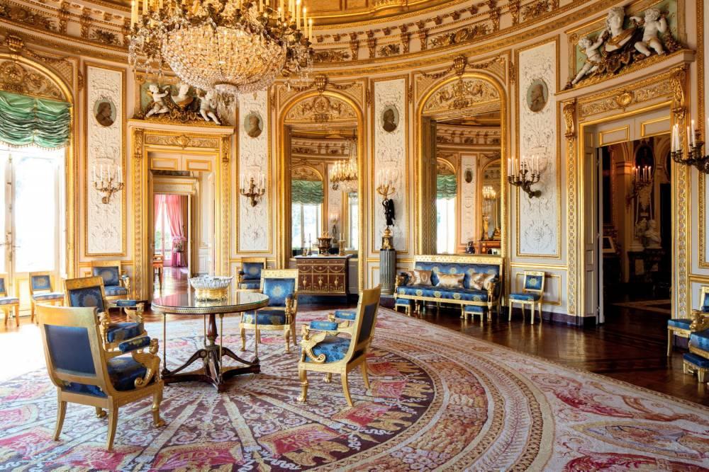 hôtel de Salm, palais de la Légion d'honneur, Paris, salon de la Rotonde, décorations,  ©  David Bordes/Éditions Internationales du Patrimoine