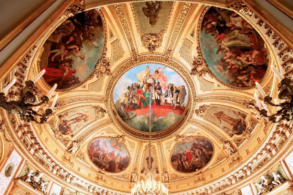 hôtel de Salm, palais de la Légion d'honneur, Paris, Napoléon, coupole, peinture, allégorie, ©  David Bordes/Éditions Internationales du Patrimoine