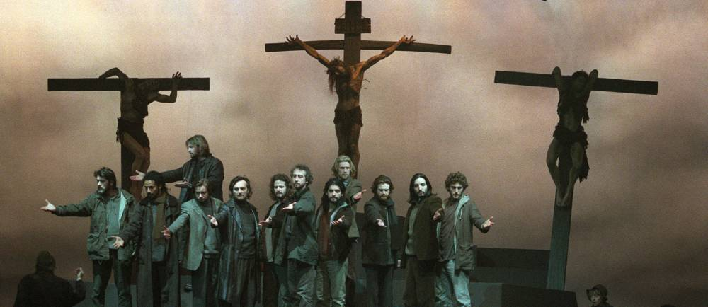 THEATRE-JESUS © FRANCOIS GUILLOT AFP
