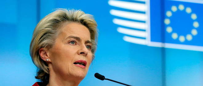Ursula von der Leyen defend la strategie europeenne de commande de vaccins contre le Covid-19.