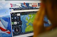 Sur « Virtual Regatta », le Vendée Globe 2020 virtuel réunit près d'un million de participants.